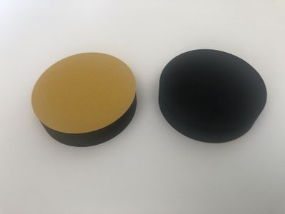 Self-adhesive foam rings
