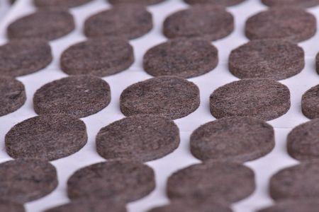 Self-adhesive felt pads-Brown